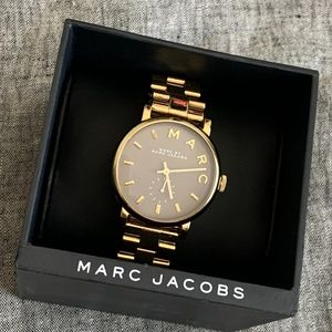 Marc by Marc Jacobs Baker watch gold